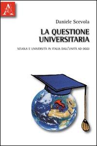 La questione universitaria