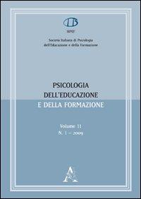Psicologia dell'educazione e della formazione (2009). Vol. 1