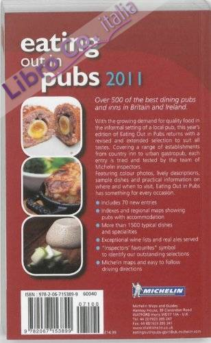 Eating Out in Pubs Guide.