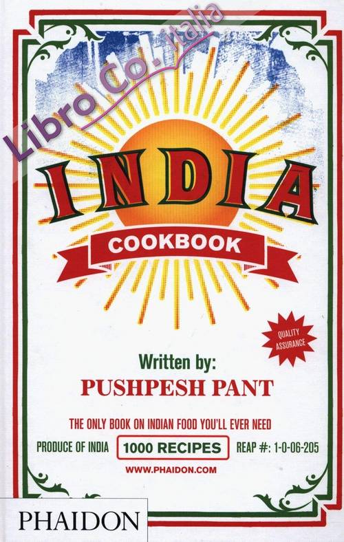 India. Cookbook. Ediz. inglese.