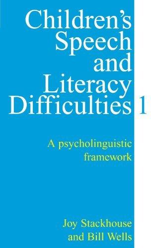 Children's Speech and Literacy Difficulties.