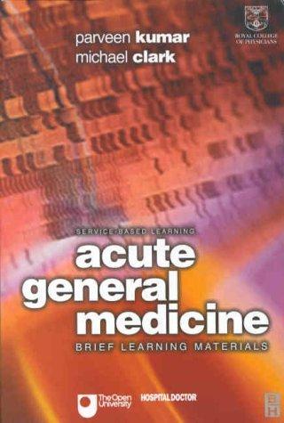 Acute General Medicine.