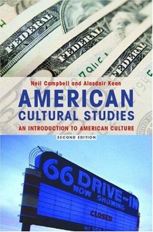 American Cultural Studies.