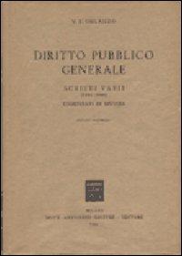 Diritto pubblico generale