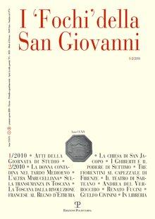 I 'Fochi' della San Giovanni. Anno XXXVI. 1-2. gennaio-Agosto 2010