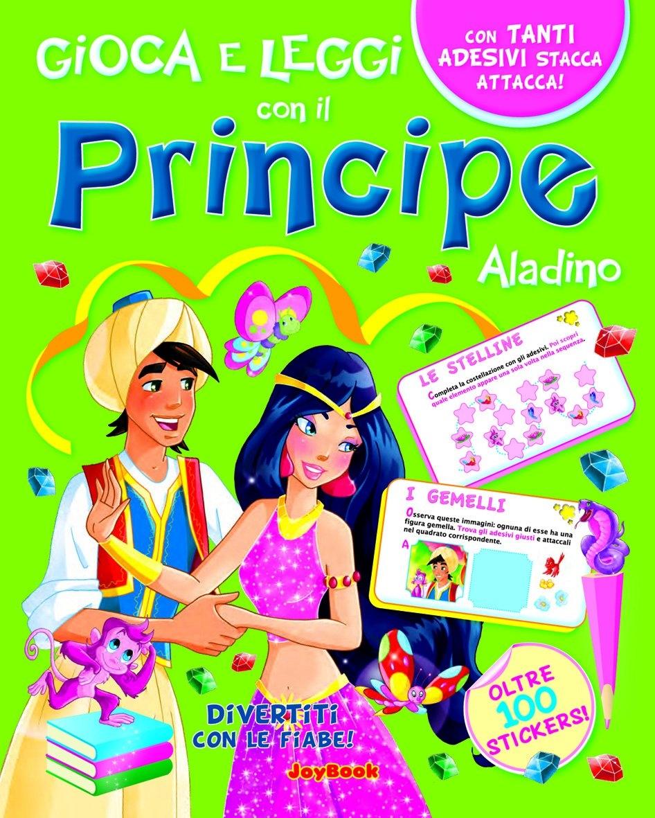 Principe Aladino. Con stickers.
