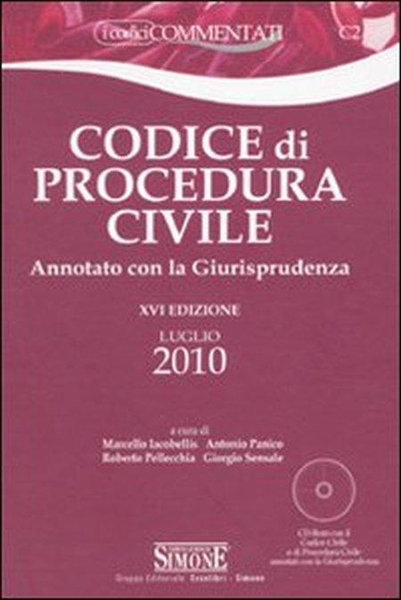 Codice di procedura civile. Annotato con la giurisprudenza. Con CD-ROM