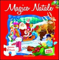 Magico Natale. Libro puzzle