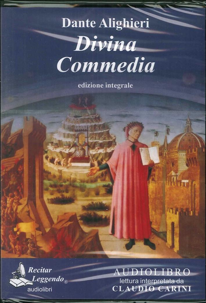 Divina Commedia. Audiolibro. CD Audio Formato Mp3