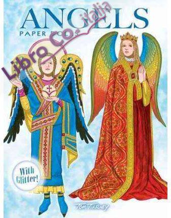 Angels Paper Dolls. With Glitter!.