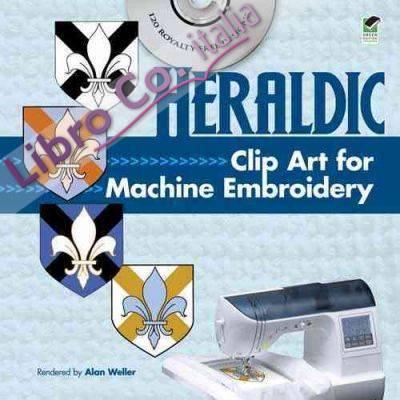 Heraldic Clip Art for Machine Embroidery