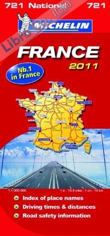 France National Map 2011