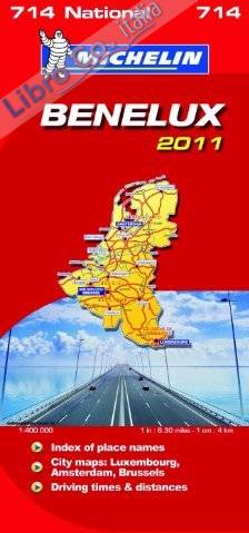 Benelux National Map 2011