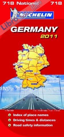 Germany National Map 2011.