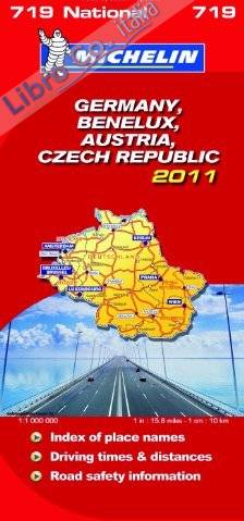 Germany, Bnl, Austria, CR 2011 National Map