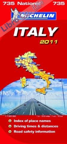 Italy National Map 2011