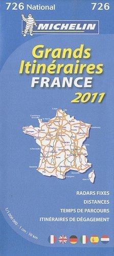 Route planning France 2011 1.000.000. Ediz. multilingue