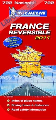 France Reversible National Map 2011