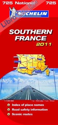 Southern France National Map 2011