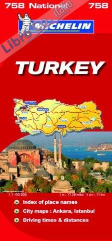 Turkey National Map