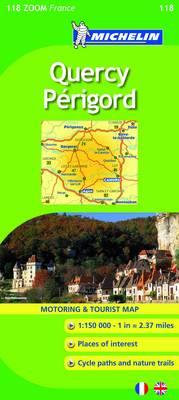 Map 0118 Quercy Perigord.
