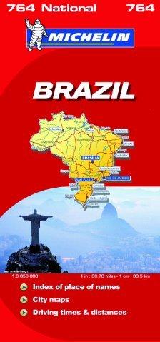 Brazil National Map.