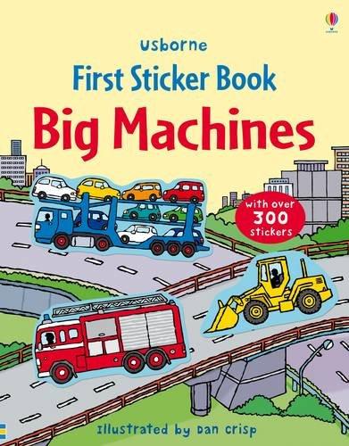Big Machines Sticker Book.