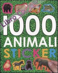 1000 Animali Stickers.