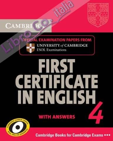 Cambridge First Certificate in English 4 for Updated Exam St