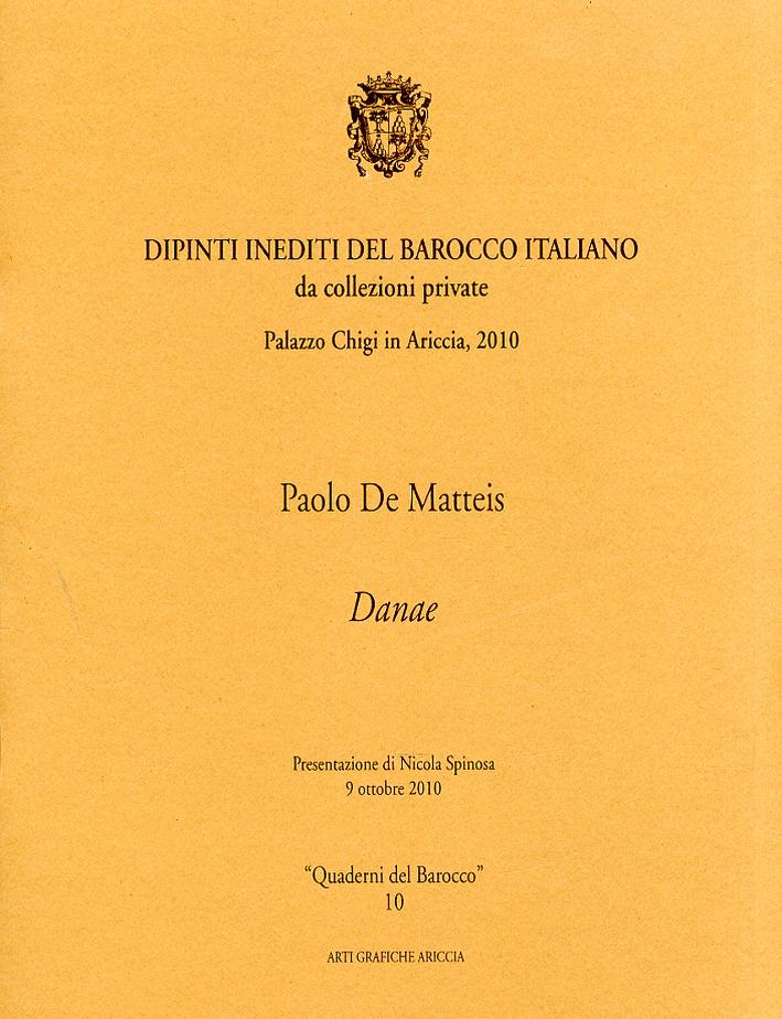 Paolo De Matteis. Danae
