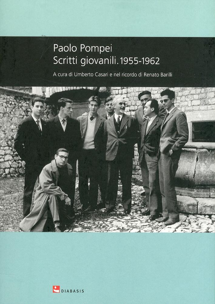 Paolo Pompei. Scritti Giovanili. 1955-1962