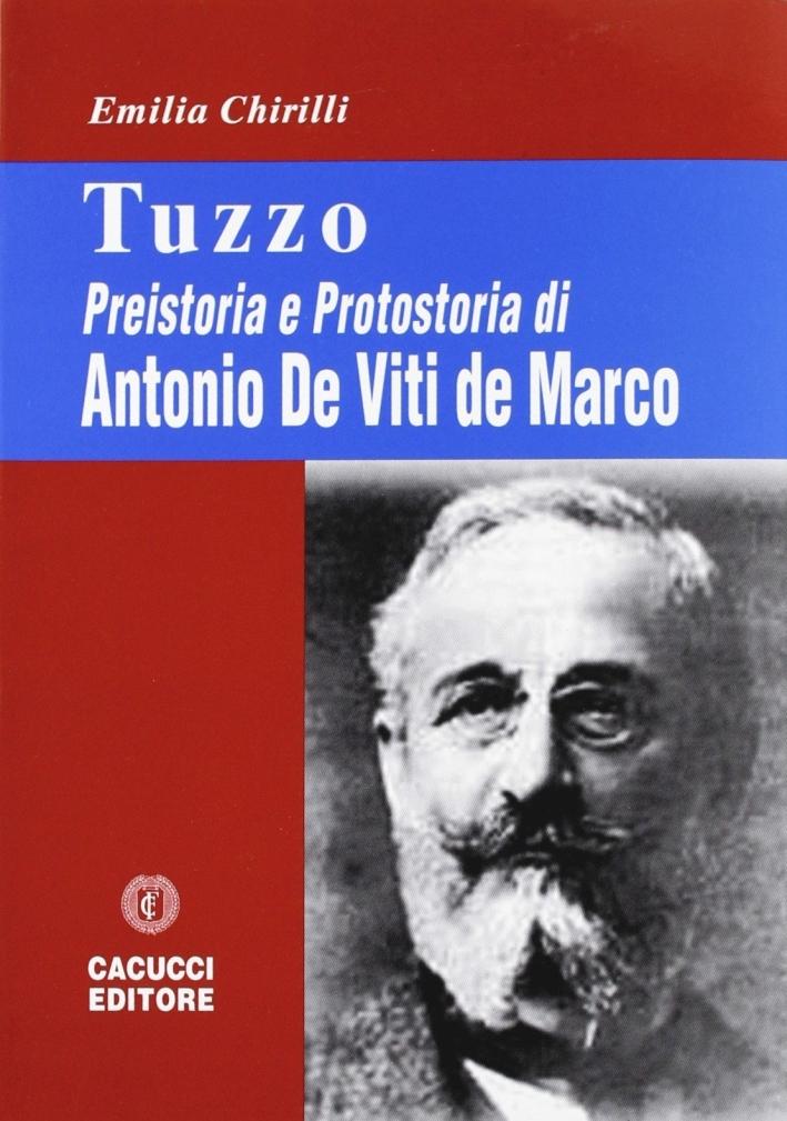 Tuzzo. Preistoria e protostoria di Antonio De Viti de Marco
