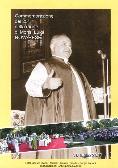 Commemorazione del 25° della morte di mons. Luigi Novarese
