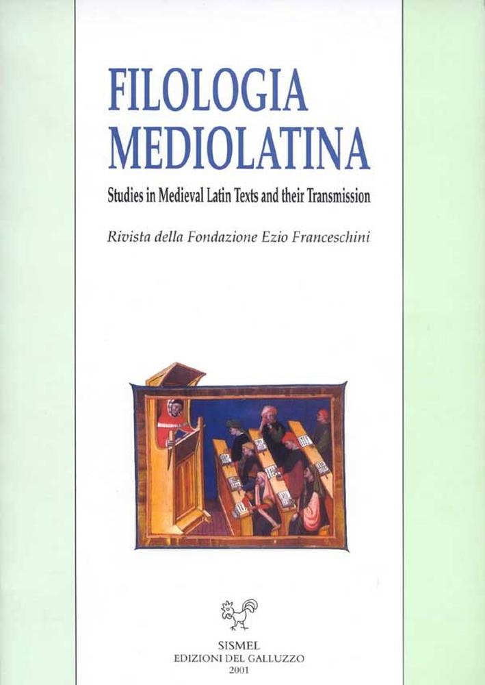 Filologia Mediolatina. XVII
