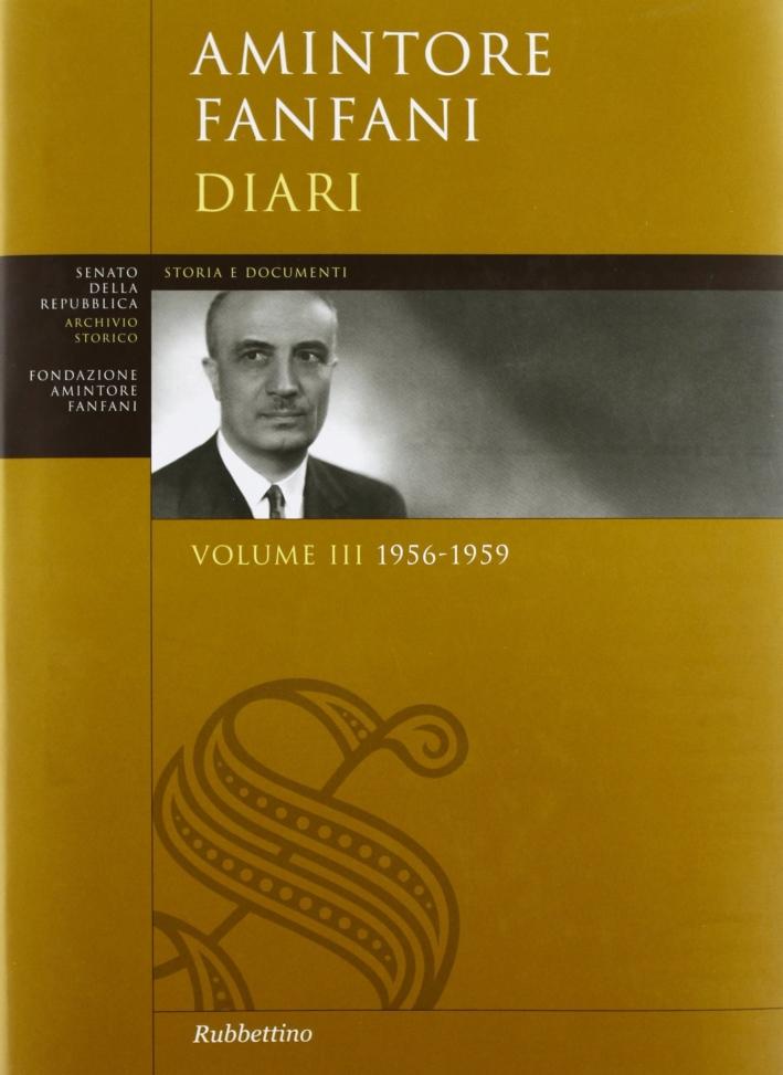 Diari. Vol. III 1956-1959