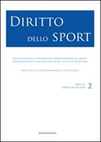 Diritto dello sport (2010). Vol. 2