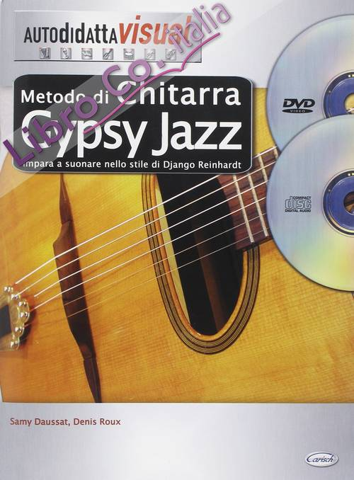 Metodo di chitarra gypsy jazz. Con CD Audio. Con DVD