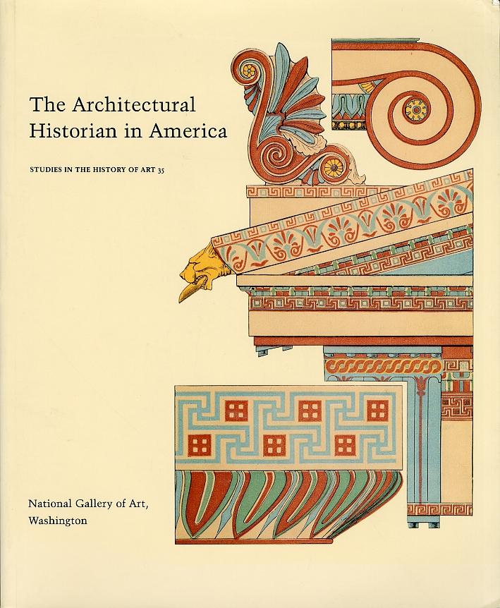 The architectural historian in America