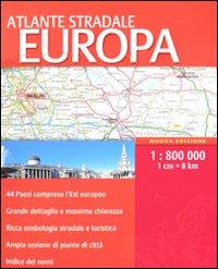 Atlante stradale Europa 1:800.000. Ediz. multilingue
