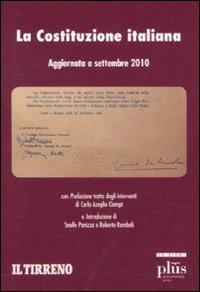 La Costituzione Italiana. Aggiornata a Settembre 2010