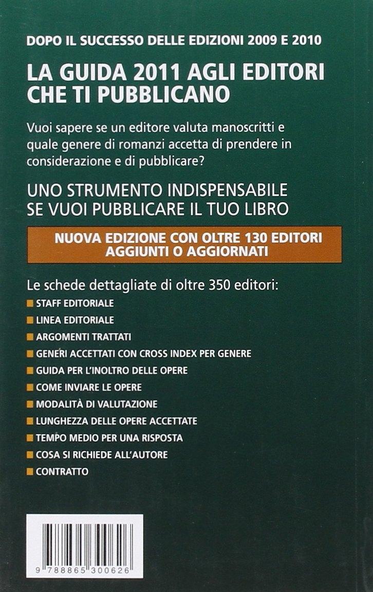 Guida 2011 agli editori che ti pubblicano