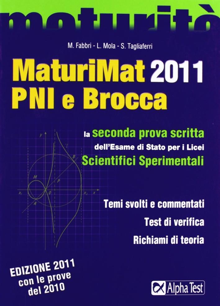 MaturiMat 2011 PNI e Brocca