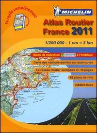 France. Atlas Routier 2011 1:200.000