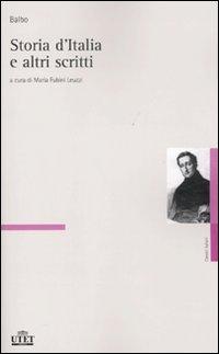 Storia d'Italia e altri scritti