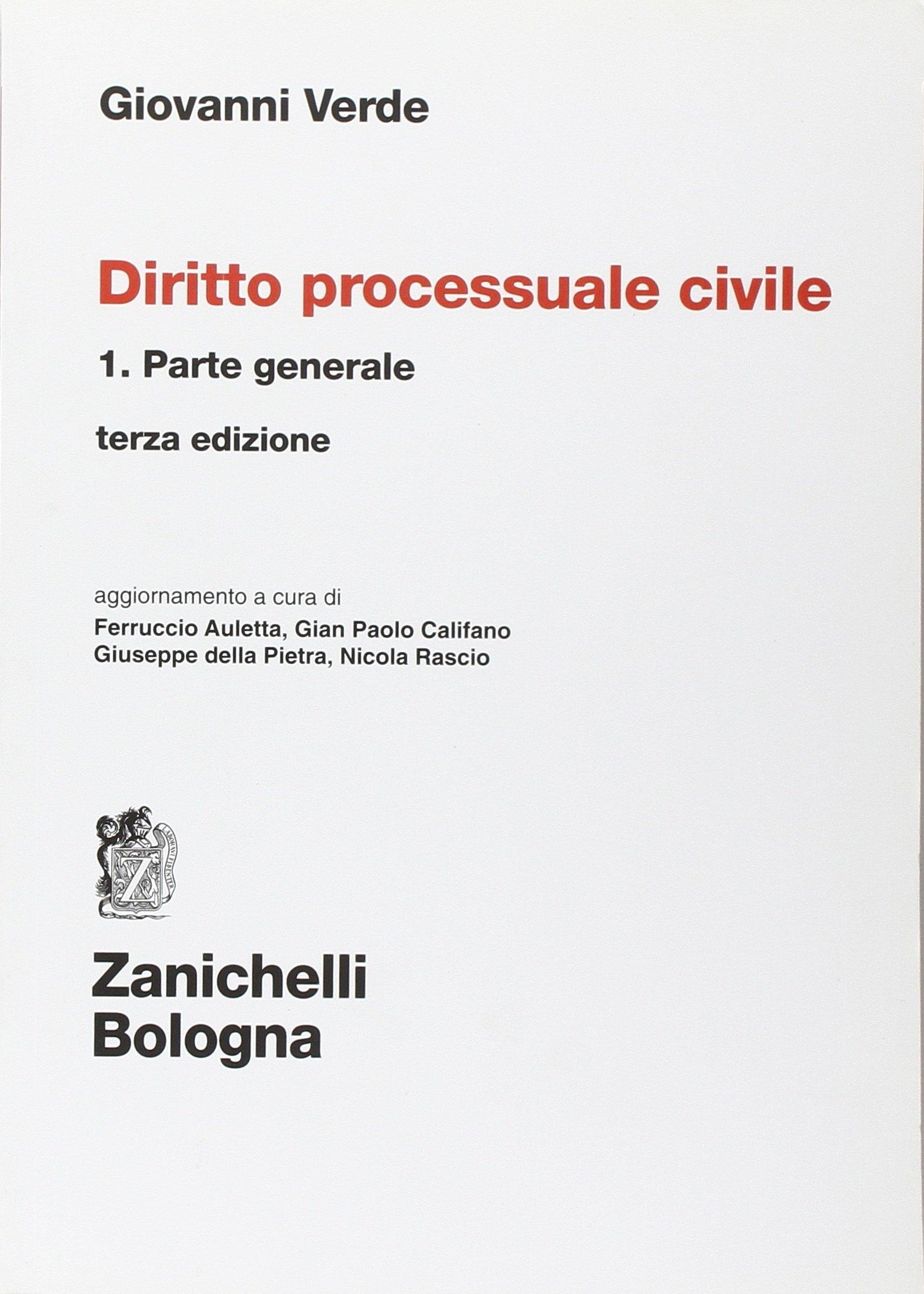 Diritto processuale civile. Vol. 1