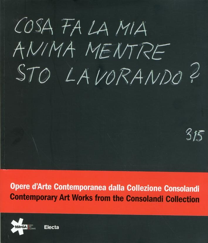 Cosa fa la mia anima mentre sto lavorando? Opere d'Arte dalla contemporanea dalla Collezione Consolandi. Contemporary Art Works from Consolandi Collection