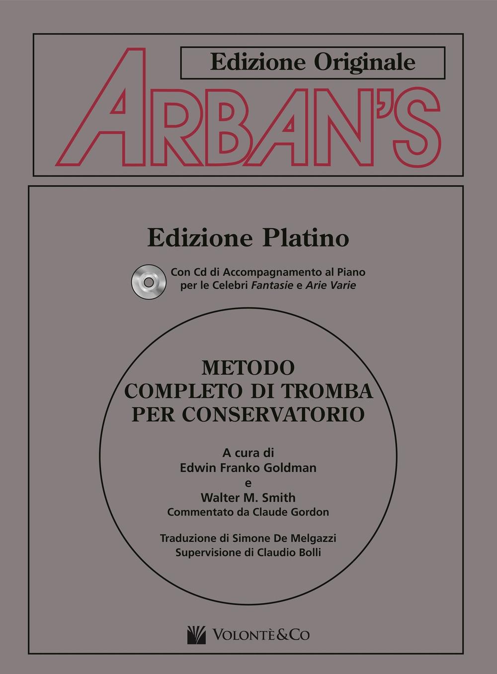 Arban's. Metodo completo di tromba per conservatorio. Con CD Audio.