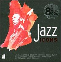 Jazz icons. Ediz. illustrata. Con 8 CD Audio