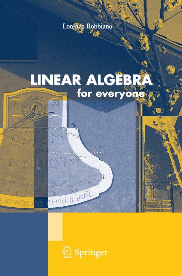 Linear algebra for everyone.