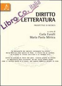 Diritto e letteratura. Prospettive di ricerca